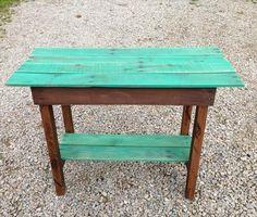DIY Pallet Side Table   Pallet Furniture DIY