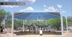 Playscapes of MS/AL - Fabric Shade Structures