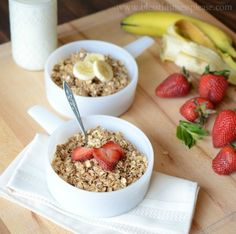 Healthy Homemade Granola - Bless This Mess