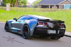 Forgeline Motorsports manufactures the world's finest premium forged aluminum custom performance racing wheels for the most discerning enthusiasts and the most demanding applications Chevy Girl, Exotic Sports Cars, Heat Exchanger, Hot Rides, Sweet Cars, Expensive Cars, Chevrolet Corvette, Cadillac, Cool Cars