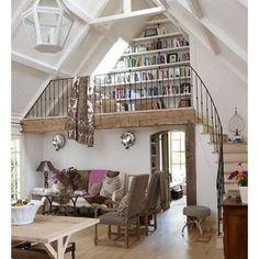 little space...great loft idea
