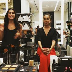 Super fun makeup talk at #nars #beautyism event with drinks by #hooch