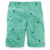 Perfect for a day at school or Sunday brunch, these nautical schiffli shorts look crisp with a polo and boat shoes.