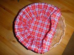 Gerry Creations: Tutorial. Come fare una fodera in tessuto per cestini