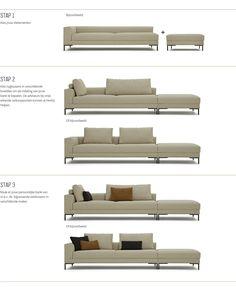 Aikon Lounge Hoekopstelling | Design on Stock Living Room Decor Ikea, Sofa Furniture, Home Staging, Beautiful Interiors, Sofa Design, Home Interior Design, Family Room, New Homes, House Design
