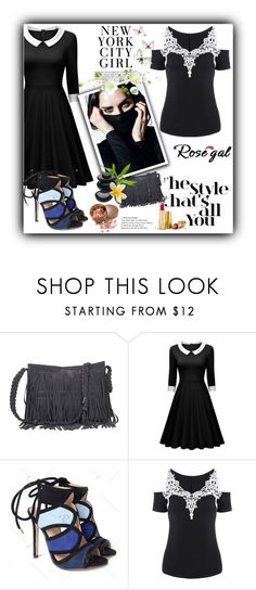 """""""ROSEGAL PROMOTION"""" by hetkateta ❤ liked on Polyvore featuring H&M and Avon"""