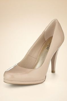 £19.50 - nude patent heels. Marks and Spencers everyone needs a pair of nude heels!