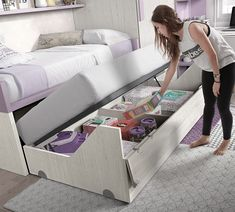 One of our favorite bunk bed ideas Check out our site for full DIY plans if you want to build one! They save valuable space and provide additional surface area for children to play Also a great solu is part of Kids bedroom - Kids Bedroom Designs, Bunk Bed Designs, Kids Room Design, Kids Bedroom Furniture, Space Saving Furniture, Bedroom Decor, Rustic Furniture, Contemporary Furniture, Small Room Bedroom