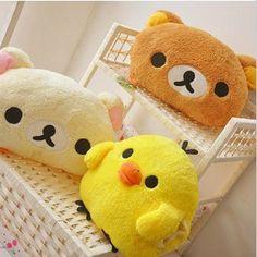 Belle détendue ours oreiller, Chaud jaune poussin elephant Shou wu, Coussins de manchon, En peluche poupée(China (Mainland))