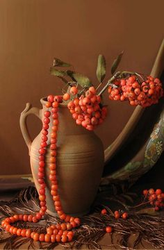 Still Life by Yelena Reznik Orange Brown, Orange Color, Orange Country, Santa Fe Style, Terracota, Color Naranja, Big Photo, Orange Crush, Change Is Good