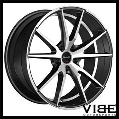 cadillac 2013 E350 Cabriolet 22 gianelle davalu machined concave wheels rims fits cadillac cts v coupe