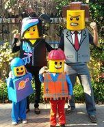 The Lego Movie Family Homemade Costume