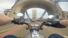 Keeway superlight v Tower bridge