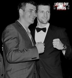 The Never Ending Story of Joe Calzaghe and Carl Froch — MDM Boxing