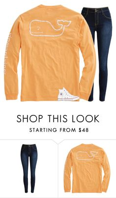 """""""Follow my main !! // Nola Grace"""" by water-whale ❤ liked on Polyvore featuring Vineyard Vines and Converse"""