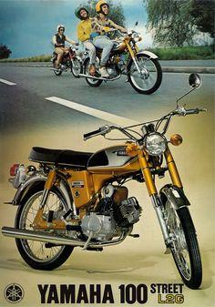 Yamaha Brochure L2G 100 1971 1972 1973 1974 Sales Catalog Catalogue Repro   eBay