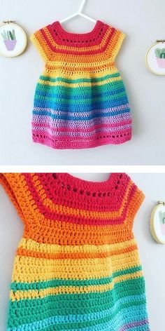Crochet Baby Dress Free Pattern, Boy Crochet Patterns, Baby Girl Patterns, Baby Clothes Patterns, Dress Sewing Patterns, Crochet Dress Girl, Baby Girl Crochet, Coat Patterns, Blouse Patterns