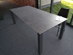Fixed dining table in Dekton Kreta top. Available in other sizes and configurations. Delivered to our client in Coventry. Homes England, Leather Bed, Work Surface, Coventry, Sofa Design, Modern Bedroom, Contemporary Furniture, Dining Table, Cabinet