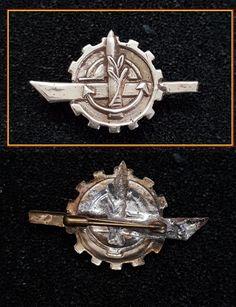 Israel IDF Zahal Military Vintage Old Badge Pin Submarine Unit 1960 Scarce | eBay