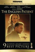 At the close of WWII, a young nurse tends to a badly-burned plane crash victim. His past is shown in flashbacks, revealing an involvement in a fateful love affair. (162 mins.) Director: Anthony Minghella Stars: Ralph Fiennes, Juliette Binoche, Willem Dafoe, Kristin Scott Thomas
