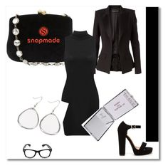 """Snapmade #2/2"" by s-o-polyvore ❤ liked on Polyvore featuring Serpui and Alexandre Vauthier"