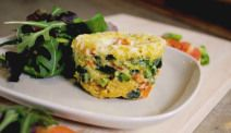 Quick Healthy Snack: How to Make a 3-Minute Microwave Quiche in a Mug