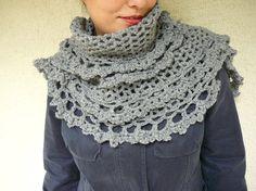lace-like shawl