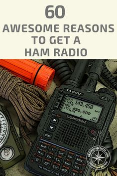Utilizing a ham radio can be an enjoyable and exciting experience. Throughout the process, you are also enabled to make some friends along the way, and unite with other ham radio amateurs who are investing their time in the same activity as you. Radios, Survival Prepping, Emergency Preparedness, Survival Shelter, Homestead Survival, Survival Skills, Emergency Kits, Emergency Supplies, Tactical Survival