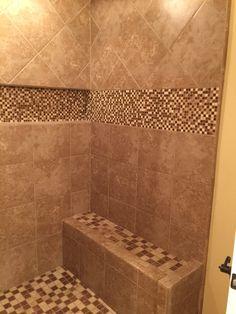 Tile Shower Bench