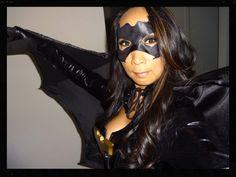 Me as Batgirl