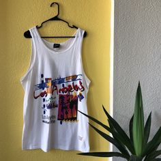6951ff89aa363 Double-sided Vintage 1994 Los Angeles World Cup USA shirt tank top in  excellent