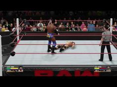WWE 2K16: Darren Young vs. Jinder Mahal (WWE Raw Sept. 5, 2016)