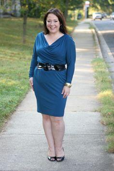 Review of my Geometric dress: www.BBWGeneration.blogspot ...