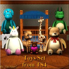 Mod The Sims - Toys Set from TS4