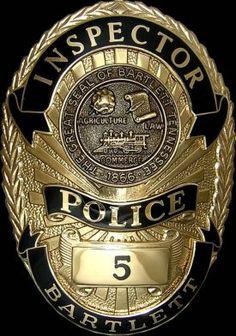 Police Badges - Oval Badges