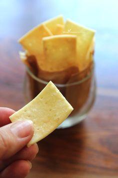 Gluten Free Cracker Recipe | WholeLifestyleNutrition.com