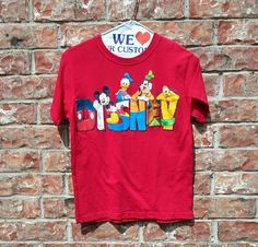 Walt Disney Mickey Mouse & Friends T'Shirt Pullover Kids Unsex Boy/Girl Size 6/7   Clothing, Shoes & Accessories, Kids' Clothing, Shoes & Accs, Boys' Clothing (Sizes 4 & Up)   eBay!