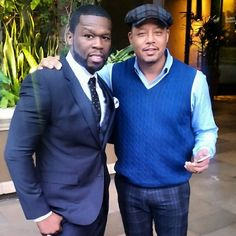 «50cent and Terrence Howard un Hun and what!!! #EFFENVODKA #FRIGO #SMSAUDIO»