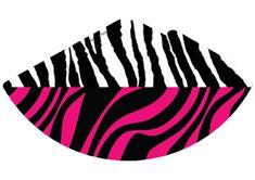 chapeuzinho-de-festa-personalizado-gratuitozebra-com-rosa