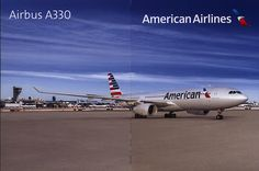 https://flic.kr/p/QT6T63 | American Airlines Airbus A330;  2016_1
