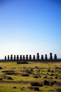 Ahu Tongariki - Easter Island - Chile (von Ndecam)