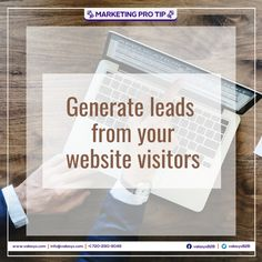 It is important to remember that tracking your website visitors on an account level is an important tactic that suits well with any other online lead generation strategy. Your Website, Lead Generation, Accounting, Marketing, Suits, Suit, Wedding Suits