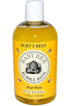 7 Bubble Baths to Relax with Tonight - Burt's Bees Baby Bee Bubble Bath