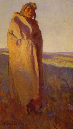 """The Ancient"" - Maynard Dixon, 1915."
