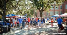 Gainesville, FL, is home to the University of Florida Gators.