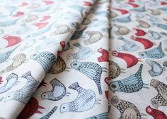 Cloud9 Fabrics Bark & Branch Bird Song Berry