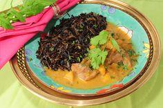 Curry de cordero con frutas y arroz salvaje http://www.canalcocina.es/receta/curry-de-cordero-con-frutas-y-arroz-salvaje
