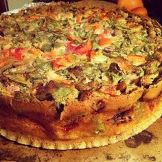 Mexican Crustless Chickpea (Vegan) Quiche  http://www.sprint2thetable.com/2012/06/mexican-chickpea-flour-quiche/