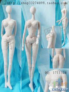 Mimin Dolls: Moldes dolls coreanas