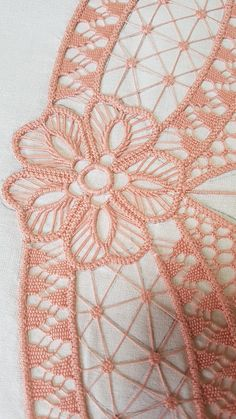 diane duteau's media content and analytics Tatting Patterns, Lace Patterns, Lace Embroidery, Embroidery Patterns, Bruges Lace, Romanian Lace, Bobbin Lacemaking, Lace Art, Point Lace